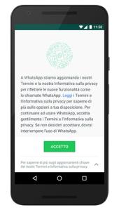 WhatsApp condivisione dei dati con Facebook
